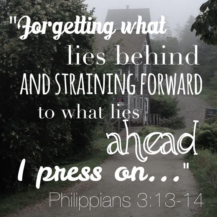 Philippians 3.13.