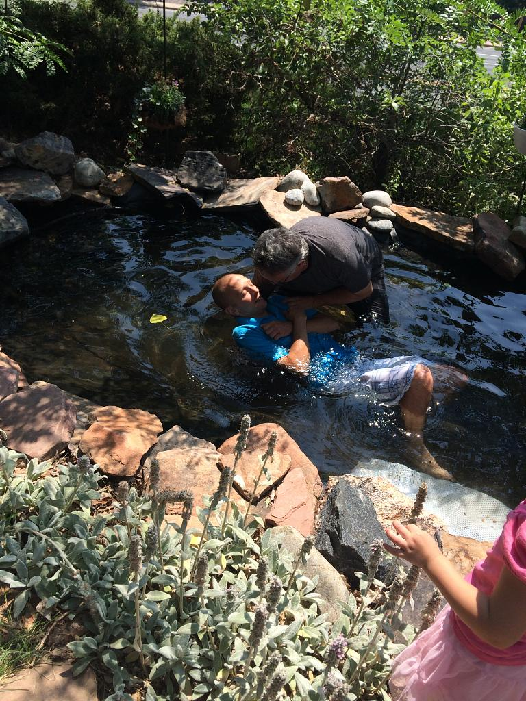 Michael Pfau Baptism