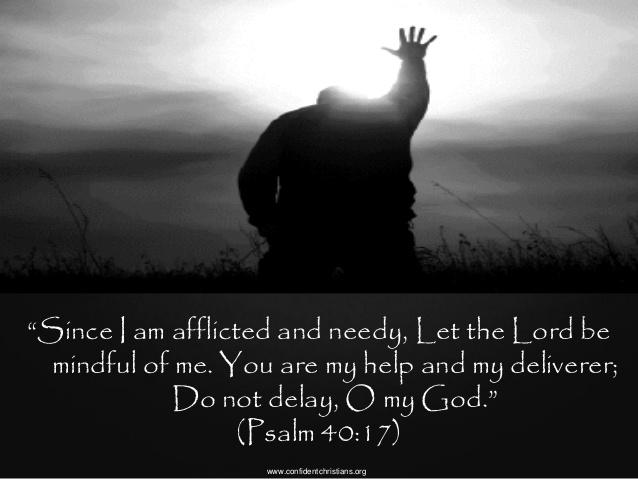 Psalm 40.17